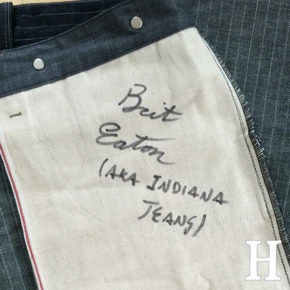 Blue Blanket Jeans IJJ Brit Eaton