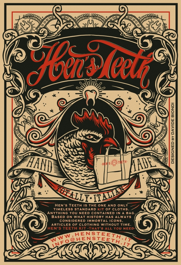 Hen's Teeth Poster