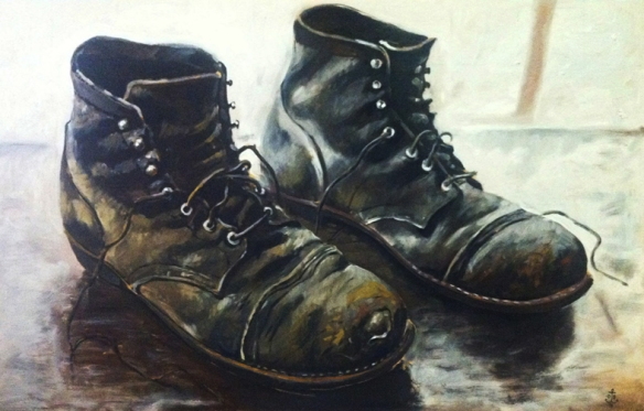 Red Wing Iron Rangers Painting
